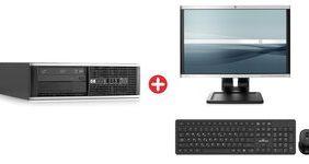Bundle HP PC 6200 SFF με HP Οθόνη LA2205wg LCD & σετ πληκτρολόγιο