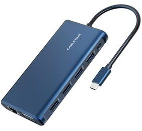 CABLETIME USB Type-C hub 12 σε 1 C160