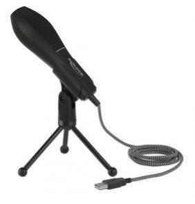 DELOCK μικρόφωνο με επιτραπέζια βάση 65939