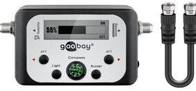 GOOBAY SAT finder με ψηφιακή οθόνη 67140