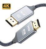 POWERTECH καλώδιο DisplayPort (M) σε HDMI(M)