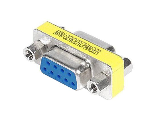 POWERTECH Adapter D-Sub 9pin female σε D-Sub 9pin female
