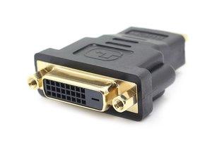 POWERTECH αντάπτορας HDMI αρσενικό σε DVI 24+1 θηλυκό CAB-H028