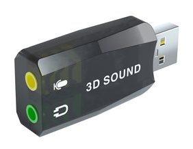 POWERTECH USB Κάρτα ήχου 5.1CH