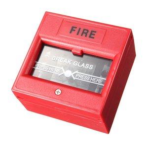 Μπουτόν αναγγελίας πυρκαγιάς DS-911R με κλειδί επαναφοράς
