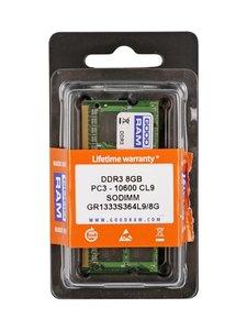 GOODRAM Μνήμη DDR3 SODIMM GR1333S364L9-8G