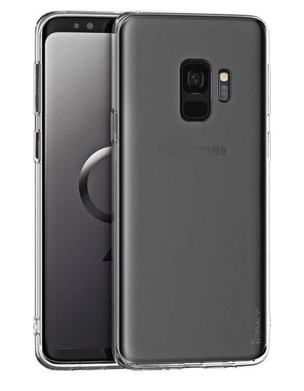 IPAKY Θήκη Effort TPU & tempered glass Samsung Galaxy A6 Plus 2018