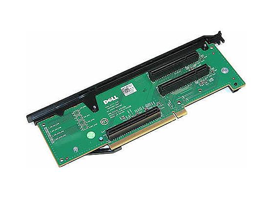 DELL used 3x PCI-E Riser Board for PowerEdge R710
