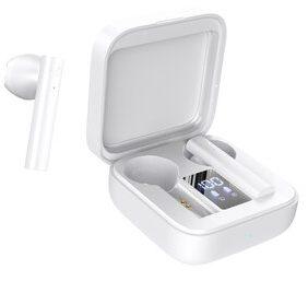 CELEBRAT earphones με θήκη φόρτισης W12