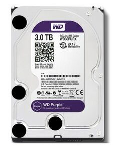 "WD σκληρός δίσκος 3.5"" Purple Surveillance 3TB"