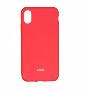 ROAR TPU IPHONE X XS pink backcover