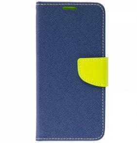 iS BOOK FANCY ALCATEL PIXI 3 3.5'' blue lime